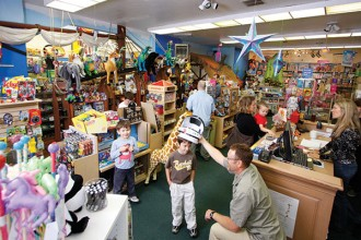 """Tye and Joan Steinbach have owned Thinker Toys – """"Portland's most hands-on toy store"""" – for more than two decades."""
